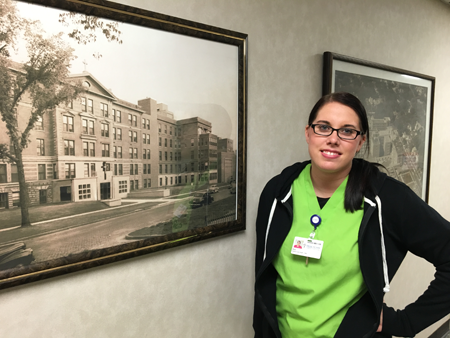 """I'm proud to say I work here. When I meet somebody else who works at Mercy or MercyCare, there is an immediate bond."" --Alex, CMA, MercyCare clinics"