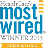 Most Wired 2013 logo