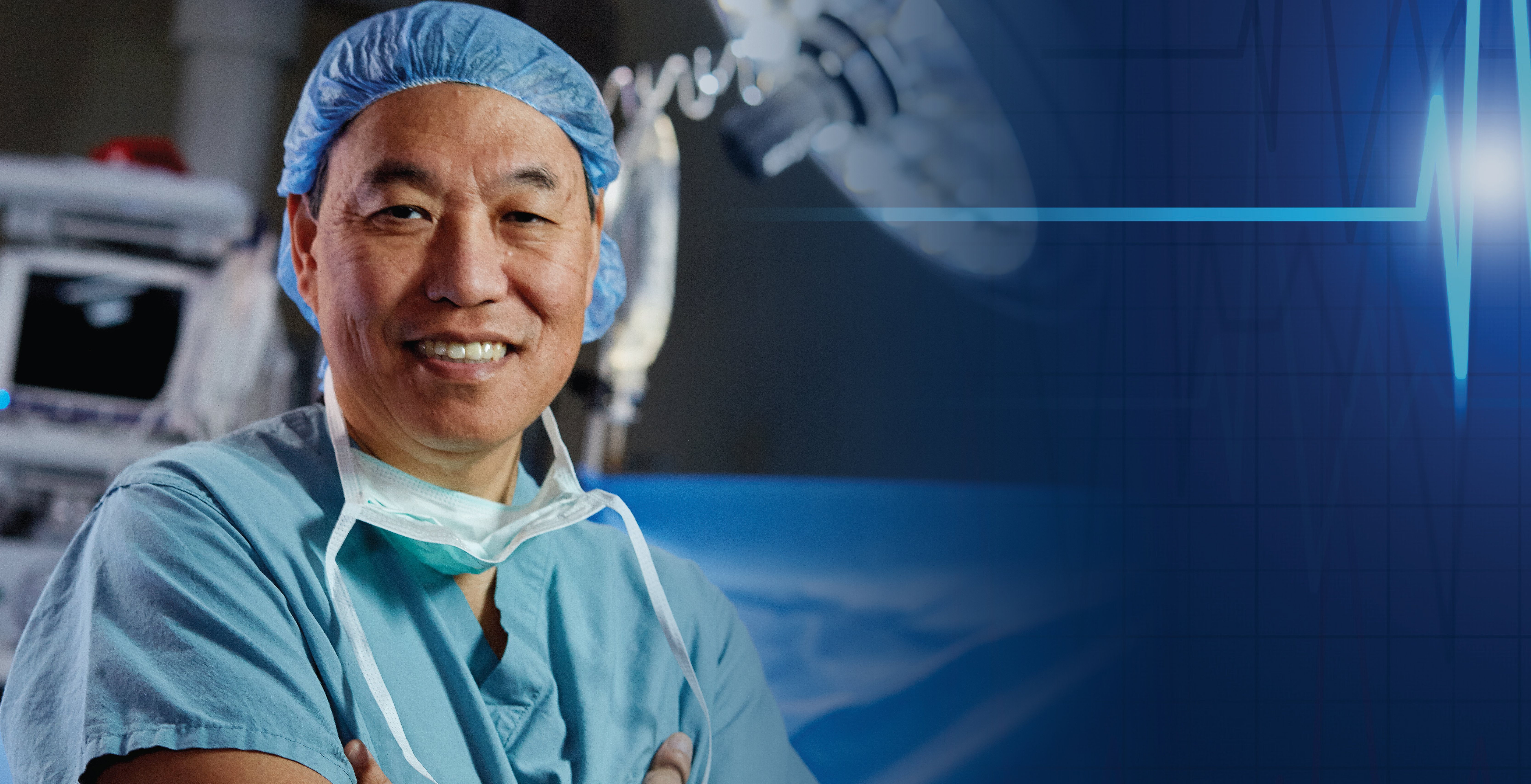 Dr. Lee in the Operating Room