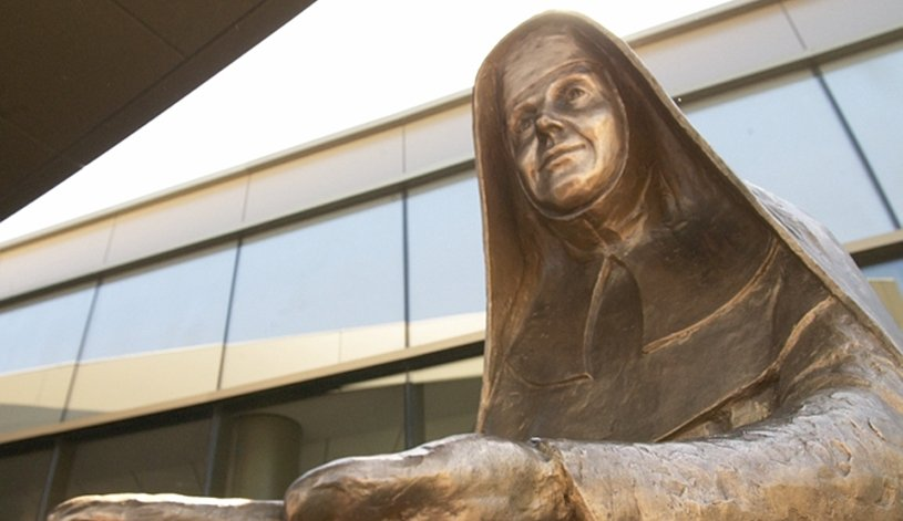 Statue of Sister Catherine McCauley