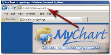 MyChart web address
