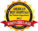 America's Best Hospitals for Patient Experience 2012 - Women's Choice Award