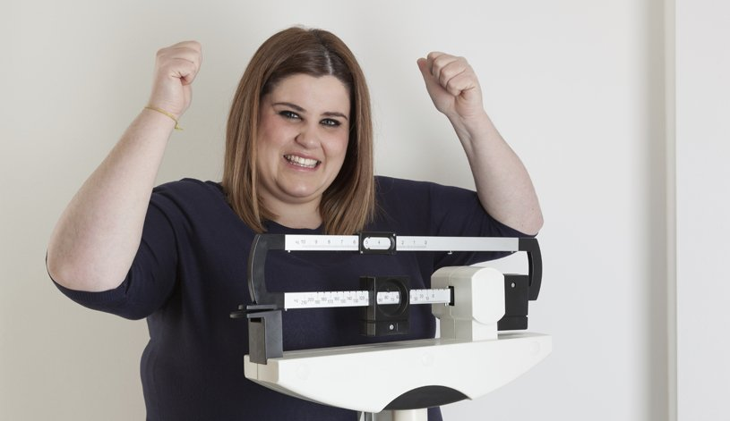 Patient losing weight