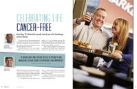 Celebrating Life Cancer-Free article