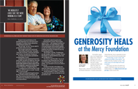 Generosity Heals at Mercy