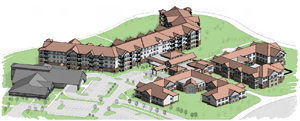 Rendering of HallMar Village
